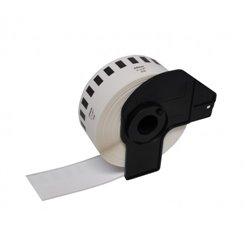 Brother DK22210 - Etiquetas Genericas de Tamaño personalizado - Ancho 29mm x 30,48 metros - Texto negro sobre fondo blanco