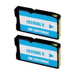 LEXMARK 200XL CYAN CARTUCHO DE TINTA GENERICO 14L0198 (PACK 2 UNIDADES)