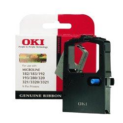 OKI ML182/ML280/ML3320 NEGRA CINTA MATRICIAL ORIGINAL 09002303