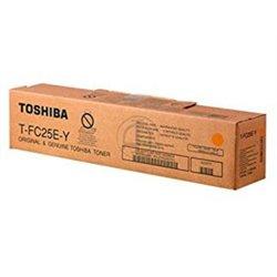 TOSHIBA T-FC25EY AMARILLO CARTUCHO DE TONER ORIGINAL 6AJ00000081