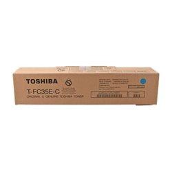 TOSHIBA T-FC35EC CYAN CARTUCHO DE TONER ORIGINAL 6AJ00000050