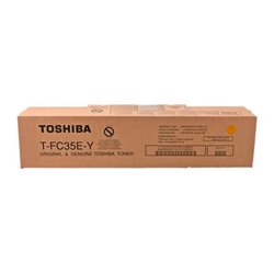 TOSHIBA T-FC35EY AMARILLO CARTUCHO DE TONER ORIGINAL 6AJ00000053