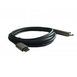3GO C137 Cable HDMI-M a Type C 2m