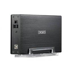 """3GO Carcasa Externa HD 3.5"""" IDE + SATA USB 2.0 Negro"""