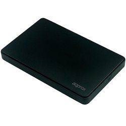 "Approx Caja Externa para Discos Duros - Sata 2.5"" - USB 2.0 - Negra"