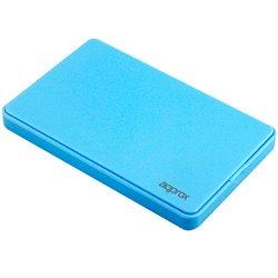 "Approx Caja Externa para Discos Duros - Sata 2.5"" - USB 2.0 - Azul"