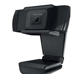 Approx Webcam Full HD 1080p - Microfono Integrado - Rotacion de 45º - Conexion USB - Pedestal con Pinza