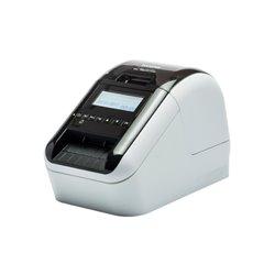 Brother QL820NWB Impresora de Etiquetas Profesional - WiFi - Bluetooth MFI - Impresion Negro/Rojo