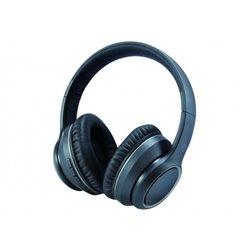 Conceptronic Auriculares Inalambricos Bluetooth 5.0 Alvah - Cancelacion de Ruido - Negro