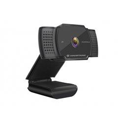 Conceptronic Webcam 2K Super HD - Microfono Integrado - Enfoque Automatico