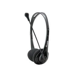 Equip Auriculares con Microfono Flexible - Control de Volumen - Jack 3.5mm - Negro