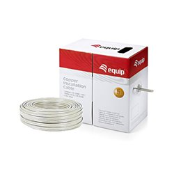 Equip Bobina de Cable de Red CAT5 U/UTP rigido LSOH ECO libre de halogenos 305m