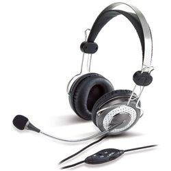 Genius Auriculares con Microfono HS-04SU Plata