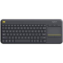 Logitech 920-007137 Teclado Inalambrico Touchpad K400 Plus Negro