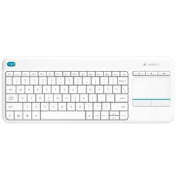 Logitech Teclado Inalambrico Touchpad K400 Plus Blanco