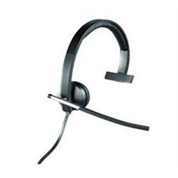 Logitech Auriculares con Microfono H650E Negro