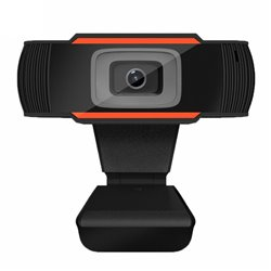 Webcam Full HD 1080p - Microfono Integrado - Enfoque Fijo - Angulo de Visión 65º
