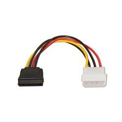 OkTech OK-CSATA100 Cable Alimentacion Molex a SATA 10cm