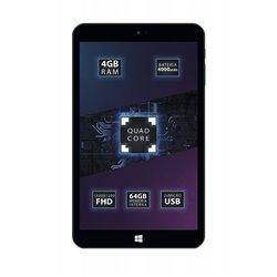 "Talius Tablet 8"" Zaphyr 8005W - Windows 10 - Quad Core Intel Atom Cherry Trail Z8350 1.92 GHz - RAM 4GB DDR3 - Memoria 64GB - Ca"
