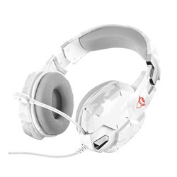 Trust 20864 Auriculares con Microfono Gaming GXT 322W Carus Blanco