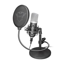 Trust 21753 Microfono USB GXT 252 Emita Negro