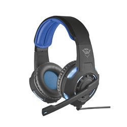 Trust 22052 Auriculares con Microfono Gaming GXT 350 Radius 7.1 Negro