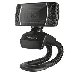 Trust Webcam con Microfono HD 720p 8MP Trino - Sujecion Flexible - Cable USB 1.43m