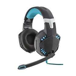 Trust 20407 Auriculares con Microfrono Gaming GXT 363 Hawk 7.1 Negro