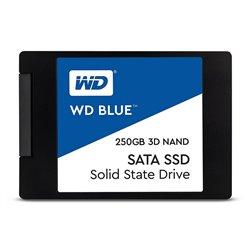 "WD WDS250G2B0A Disco Duro Solido SSD 250GB 2.5"" SATA3 Blue 3D Nand"