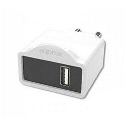 Approx Cargador de Pared 5V 1A - 1 Puerto USB - Blanco