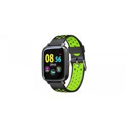 "Billow Smartwatch XS35 - Pantalla IPS 1.44"" - Resistente al Agua IP67 - Tensiometro - Bluetooth 4.0 Negro/Verde"
