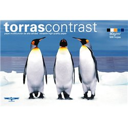 Torrascontrast Papel A4 80gr. 210x297mm (500 Hojas) Blanco