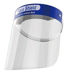 Visera Protectora Facial Transparente - Banda Elastica - Esponja Confort