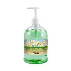 Prady Gel Hidroalcoholico Higienizante 500ml - Aroma de Melon - Dosificador - Alcohol 70%