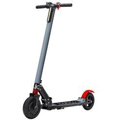 """Billow Patinete Electrico Scooter Urban - Hasta 24Km/h - Potencia 250W - Bateria 36V 4400mAh Litio LG - Ruedas 8"""" - Color Gris/R"""