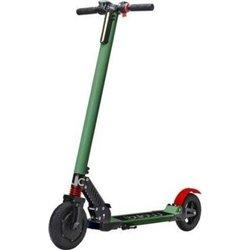 "Billow Patinete Electrico Scooter Urban - Hasta 24Km/h - Potencia 250W - Bateria 36V 4400mAh Litio LG - Ruedas 8"" - Color Verde/"